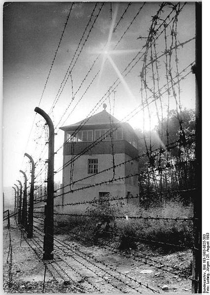427px-bundesarchiv_bild_183-1983-0825-3032c_gedenkstc3a4tte_buchenwald2c_wachturm2c_stacheldrahtzaun