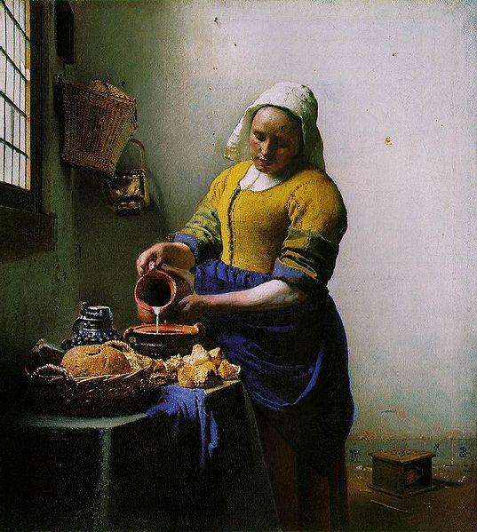 537px-Vermeer_-_The_Milkmaid