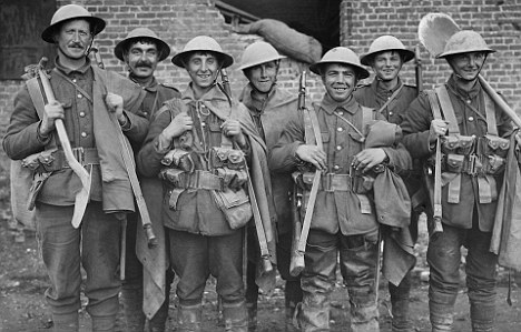 world war 1 soldiers. France during World War I