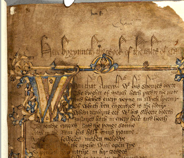 Mystery still surrounds the Canterbury Tales | The Cotton Boll ...