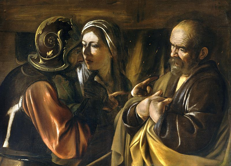 Saint Peter - Page 2 Denial-of-st-peter-caravaggio