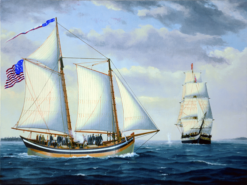 american privateers in the revolutionary war Privateers or merchant mariners help win the revolutionary war by disrupting british trade, capturing british reinforcements and supplies, especially gunpowder.