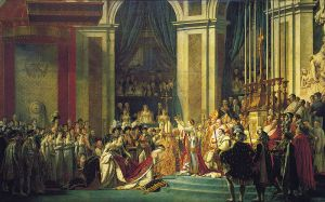 Coronation of Napoleon, Jacques-Louis David, 1807.