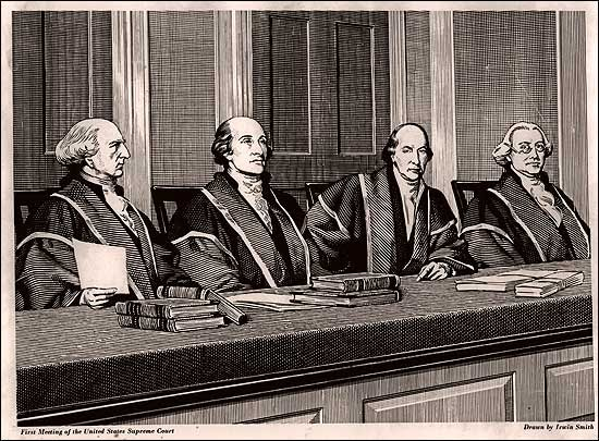 Image result for first supreme court established in 1789