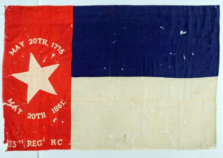 33rd north carolina flag