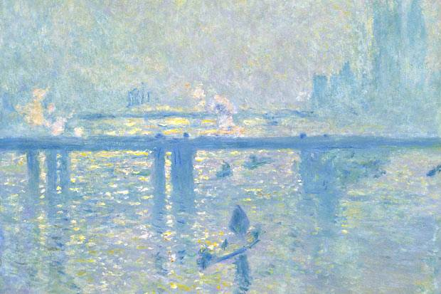 Charing Cross Bridge monet