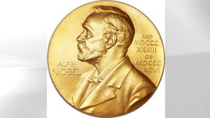 Image of Francis Crick's Nobel Prize, received in 1962 and now up for auction.