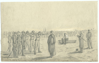 military execution in civil war