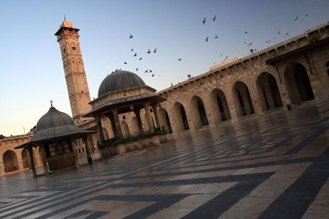 great mosque of aleppo minaret