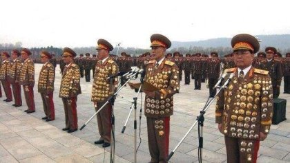 north korean medals