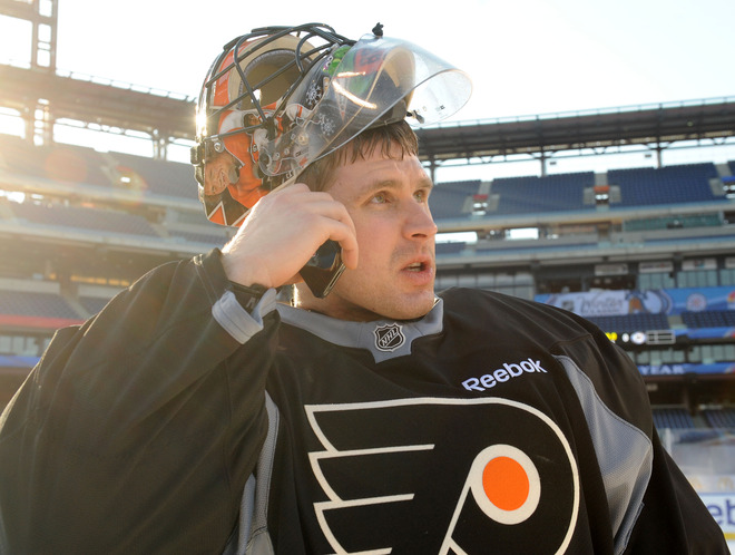 2012 Bridgestone NHL Winter Classic - Practice Sessions