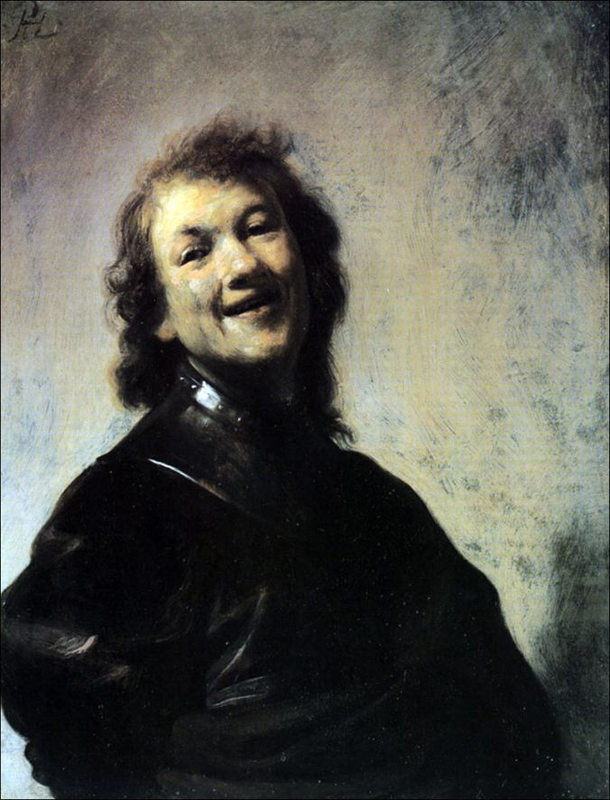 Rembrandt-Laughing