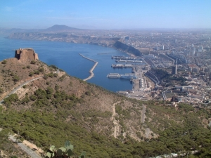The Santa Cruz Fort, Oran, Algeria.