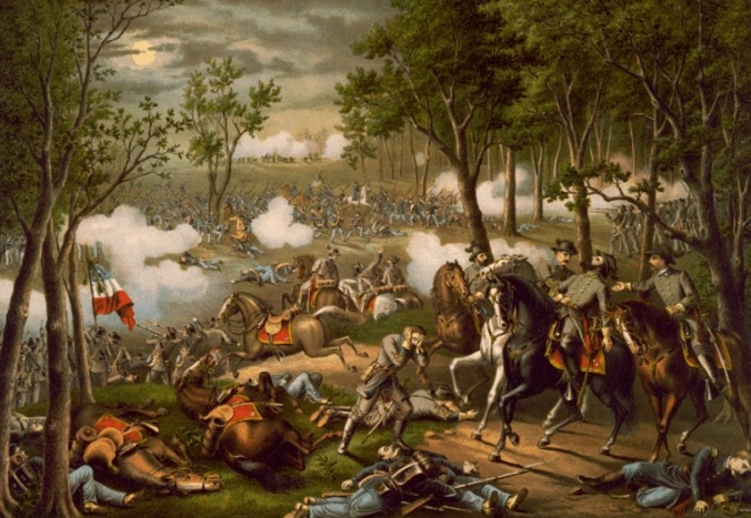 wounding of stonewall jackson