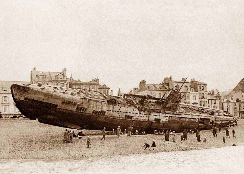 U-boat graveyard found off coast of UK | The Cotton Boll