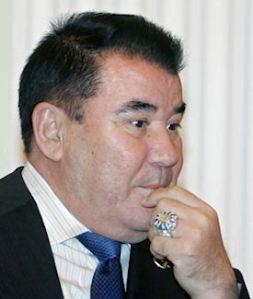 Saparmurat Niyazov, former dictator of Turkmenistan.
