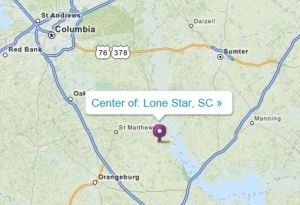 Lone Star map