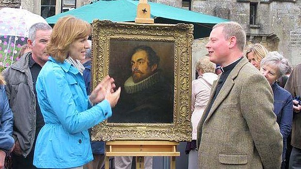 Antiques roadshow identifies van dyke work the cotton for Most valuable antiques to look for