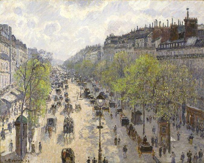 Boulevard Monmartre, Spring Morning