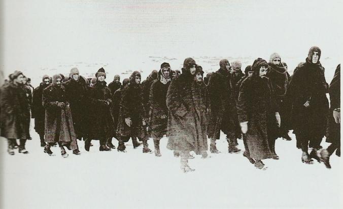 italian prisoners of war on the eastern front