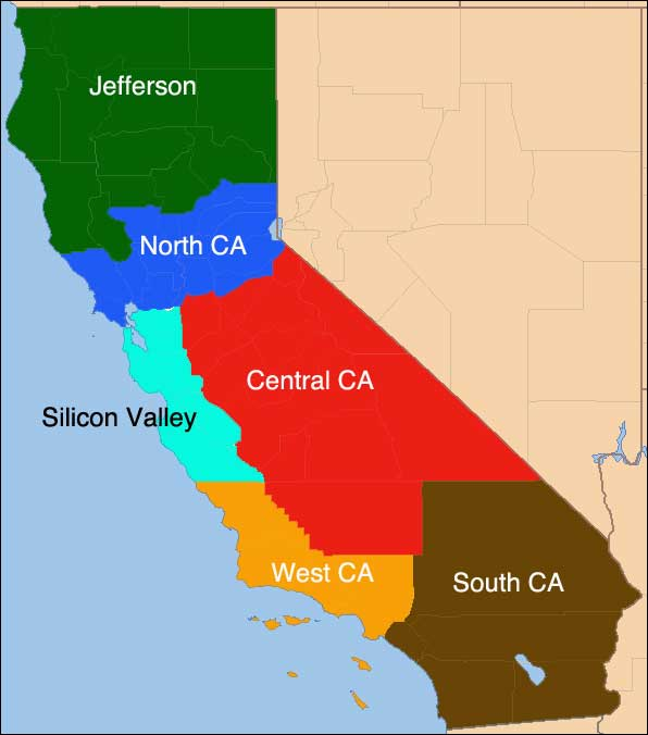 Does Plan To Divide California Have A Chance The Cotton Boll