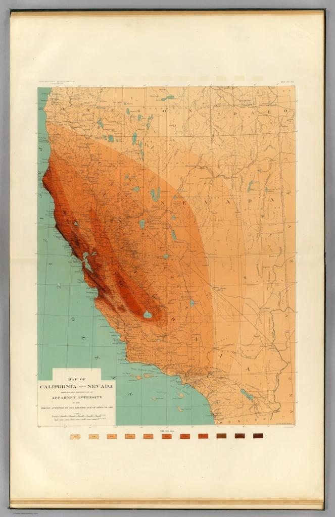 1906 san francisco earthquake map