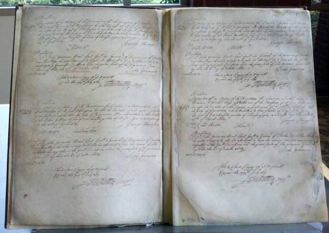 records of the province 1671-75 inside