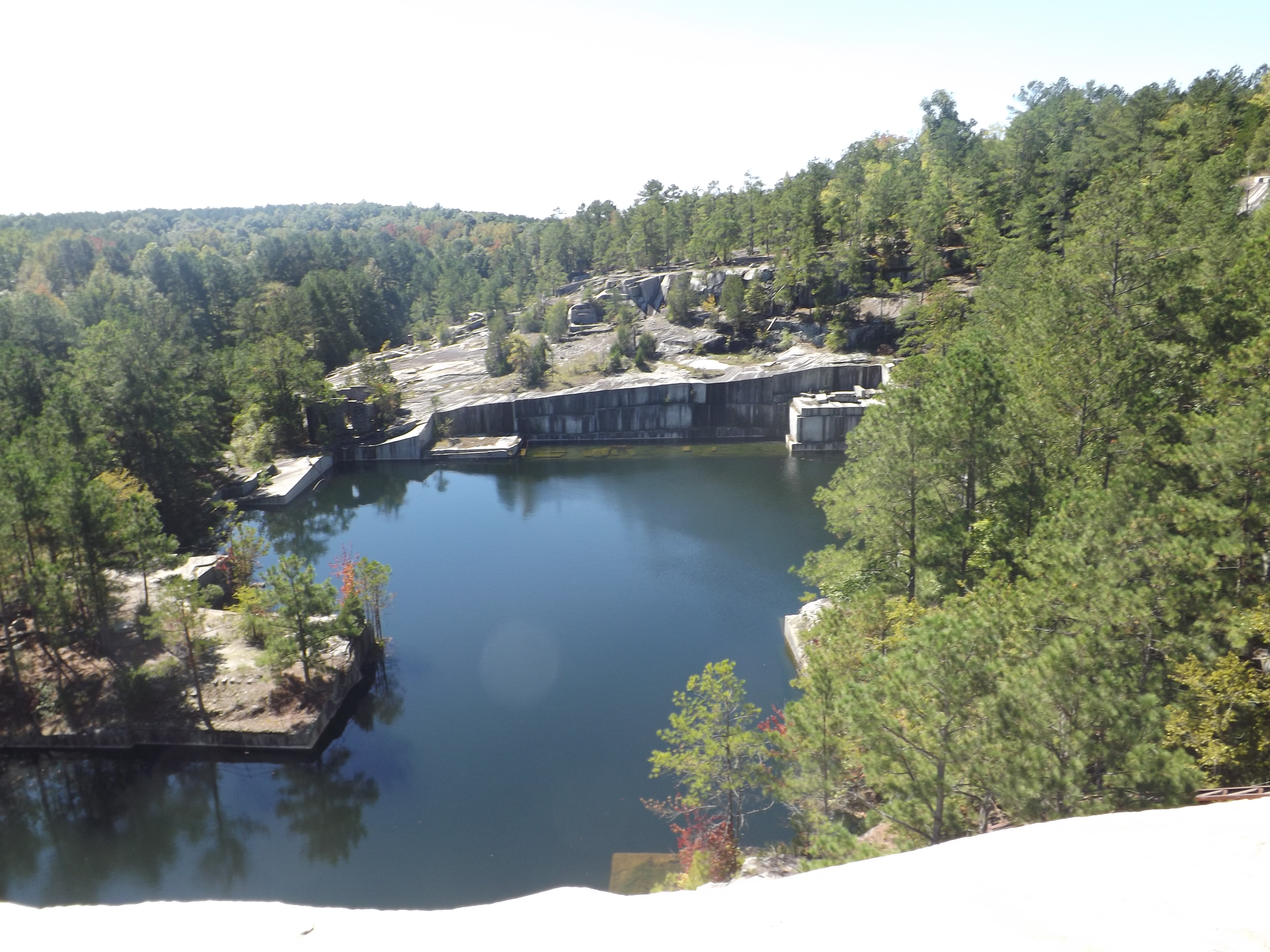 Old Quarry Offers Spectacular View Of Past Present The