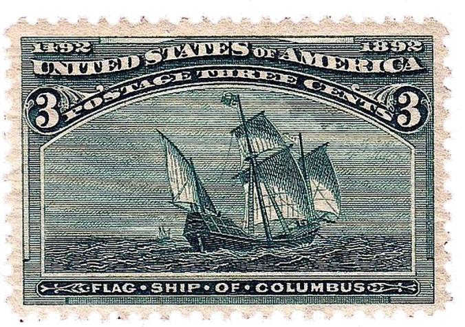 Santa Maria stamp