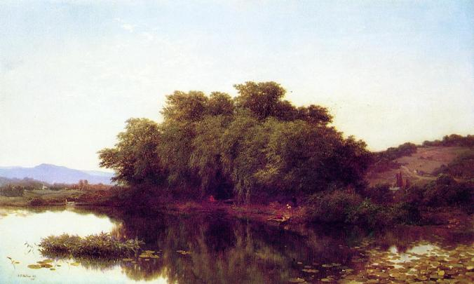 albert fitch bellows the river bank