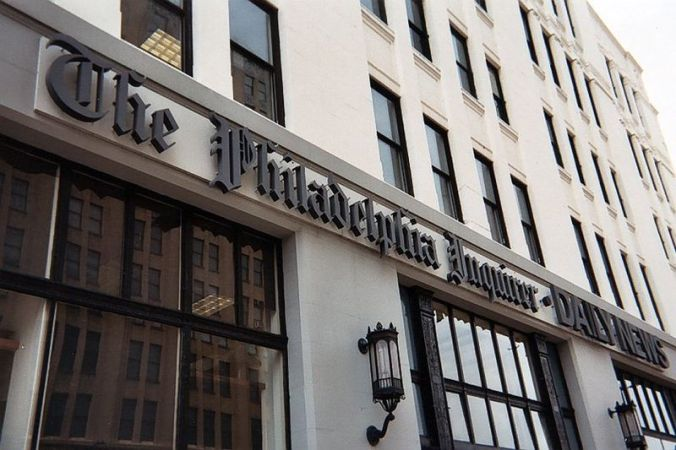 philadelphia inquirer sign