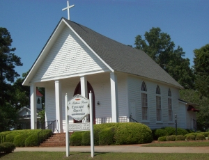 St. Matthews Parish Episcopal Church, in Fort Motte, SC, across the road from where Julia Peterkin is buried.
