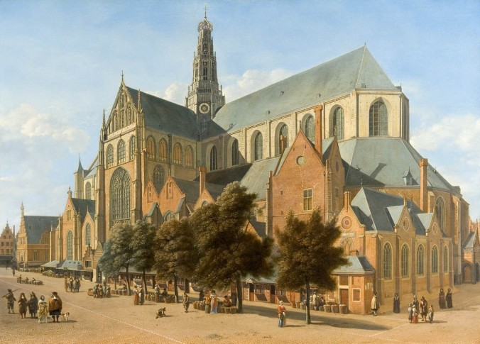 A View of St. Bavo's Haarlem