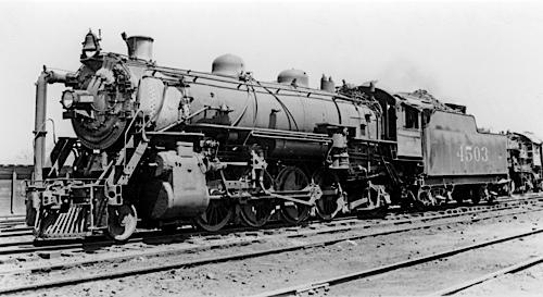 southern 2-8-2 Mikado Locomotive