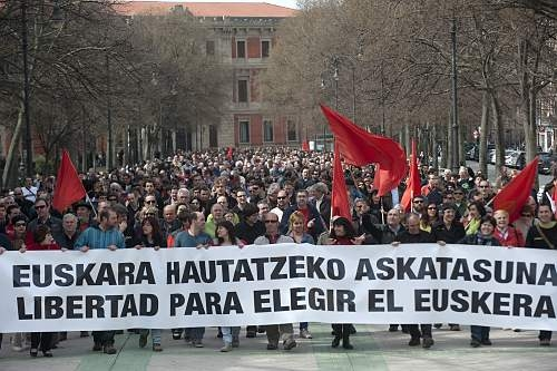 freedom to choose the basque language