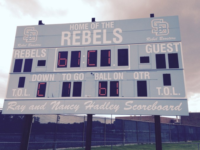 south burlington scoreboard
