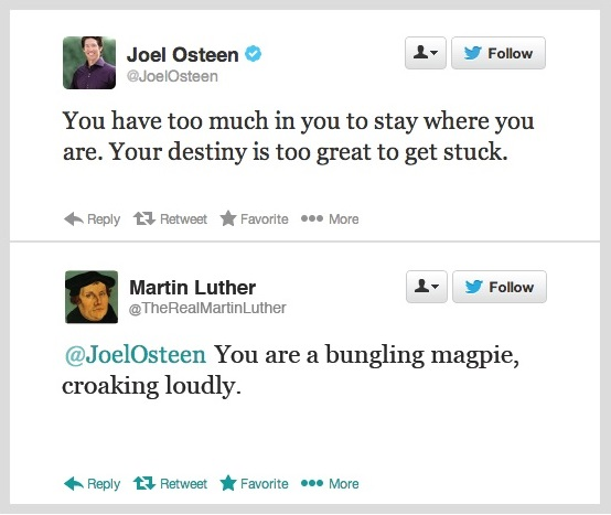 osteen luther
