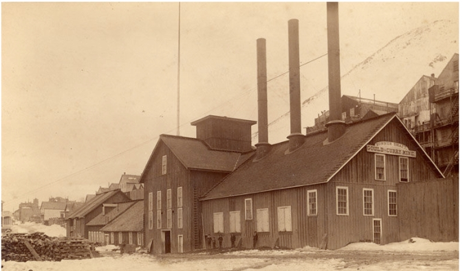 Gould_&_Curry mine comstock lode