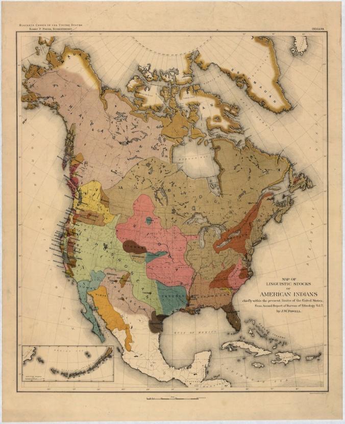 indian language map