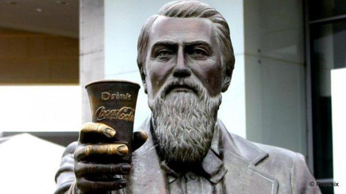 john s. pemberton statue