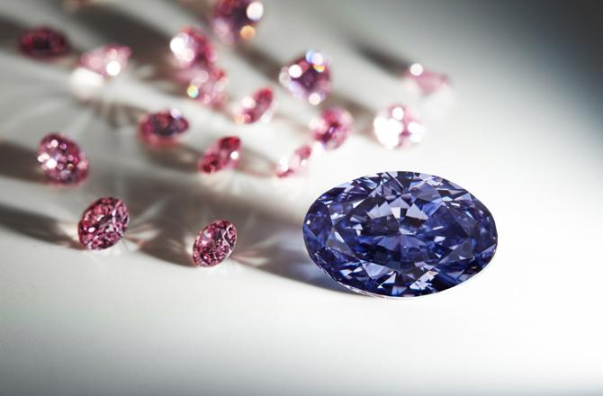 argyle violet diamond