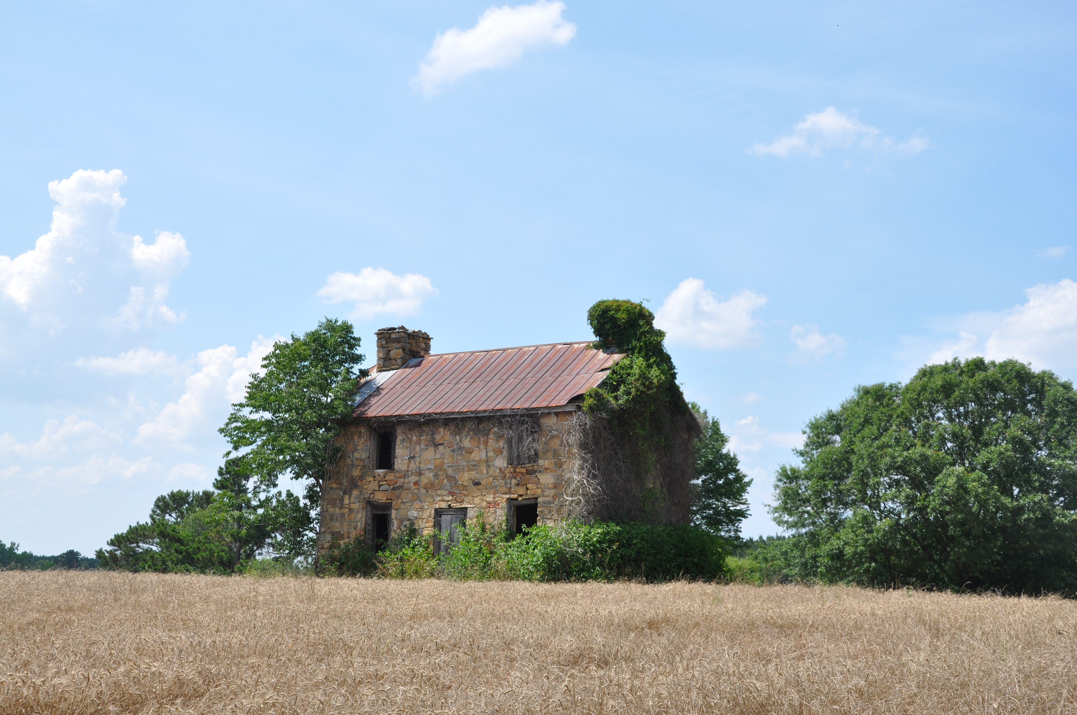 Rock house an anti plantation sc colonial home the for The carolina house