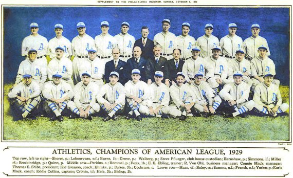 1929 athletics