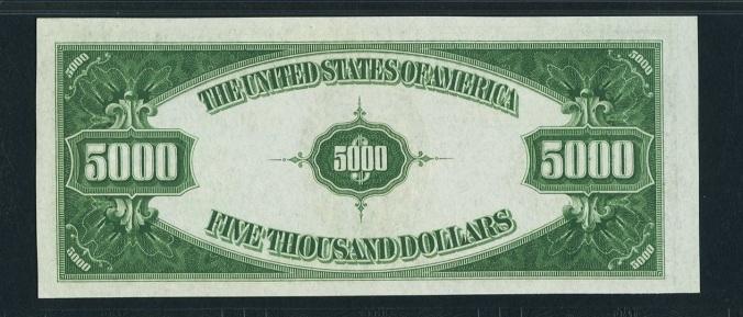 $5,000 back