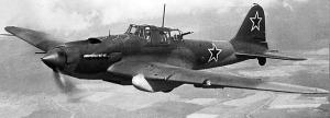 Il-2 Sturmovik, similar to what Stepan Borozenets flew during World War II.