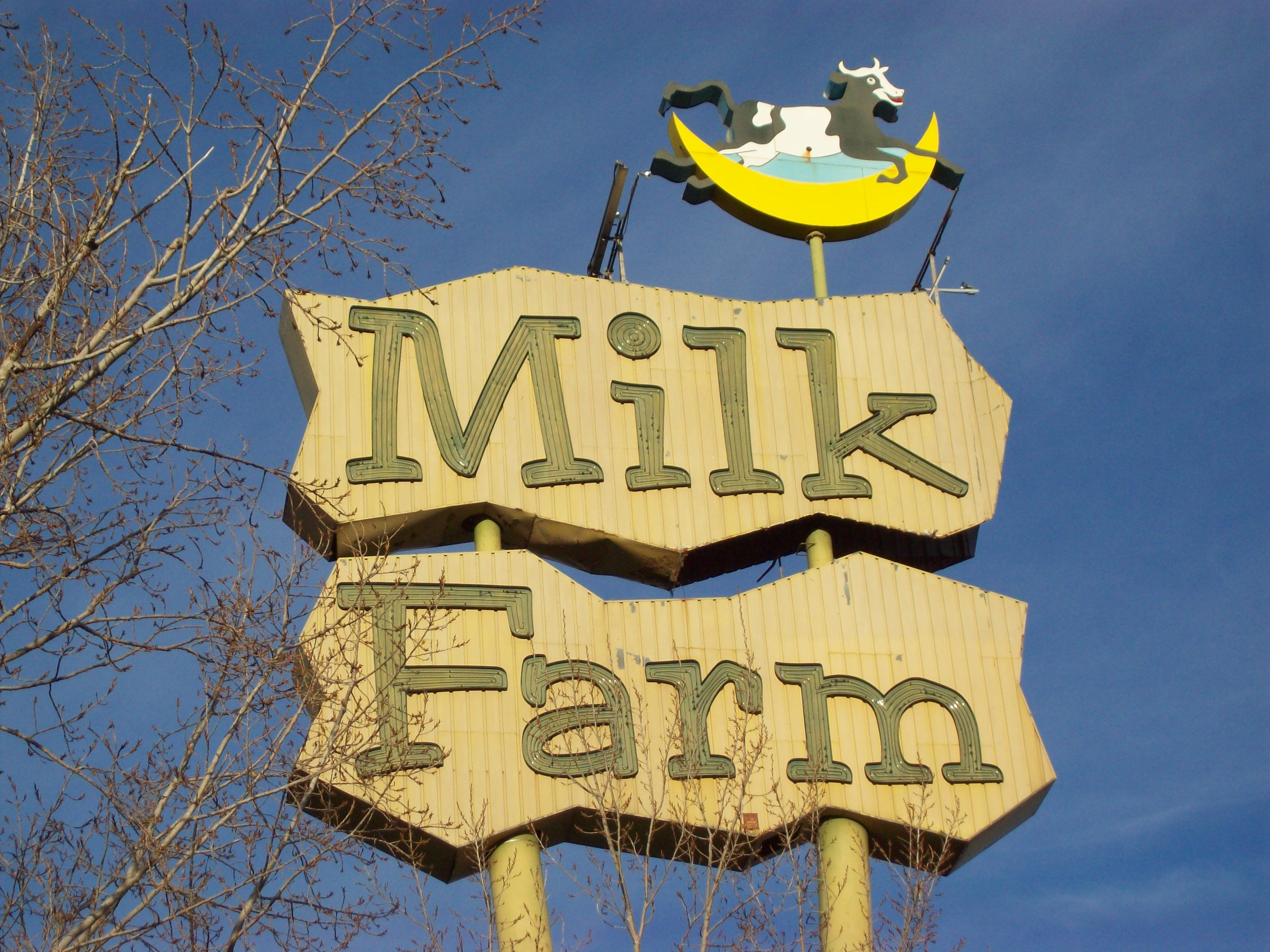 trying to recollect memories of fabled milk farm restaurant | the