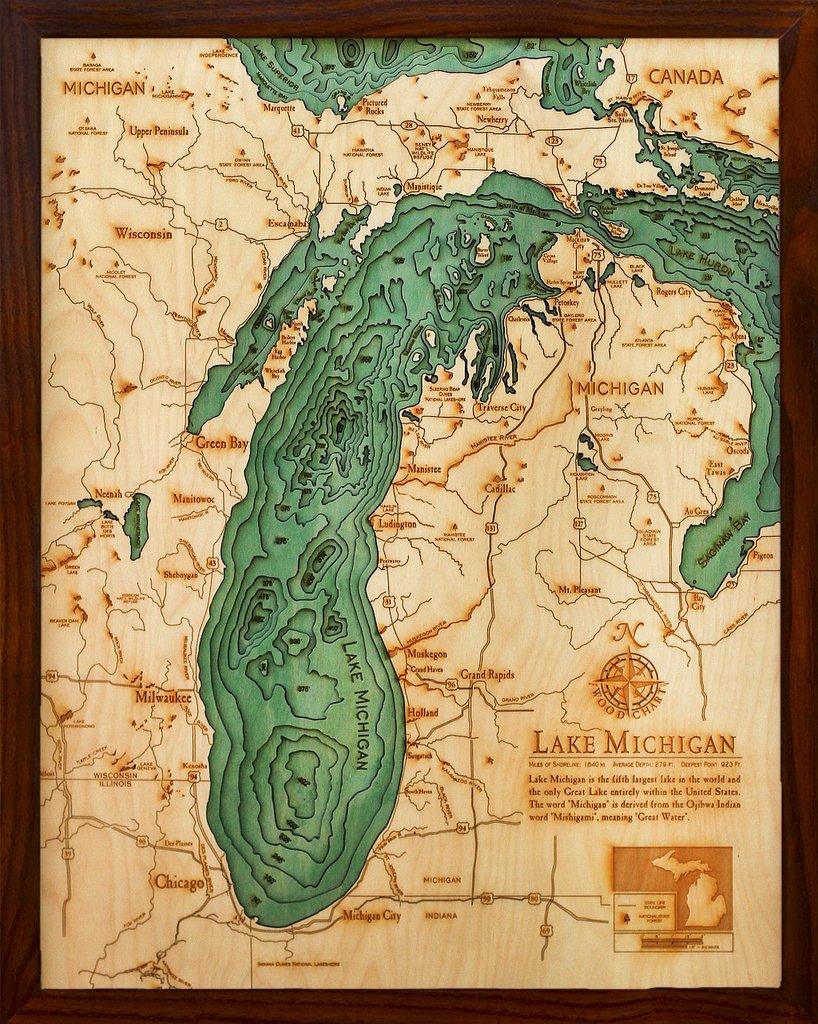 map of lake michigan shipwrecks Clear Waters Increase Visibility To Shipwrecks On Lake Michigan map of lake michigan shipwrecks